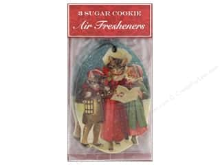 Clearance: Punch Studio Air Freshener Holiday Cat Caroler 3pc