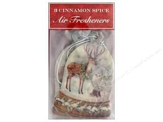 Punch Studio Air Freshener Holiday Deer Globe 3pc