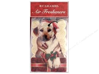 Clearance: Punch Studio Air Freshener Holiday Merry Lab 3pc