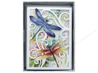 die cuts: Punch Studio Gift Card Boxed Die Cut Dragonfly