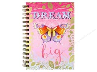 Punch Studio Journal Spiral Dream Big