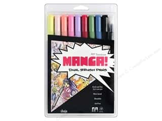 Tombow Dual Brush Pen Set Manga Shojo 10pc