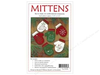 yarn & needlework: Rachel's Of Greenfield Kits Felt Mittens Ornaments