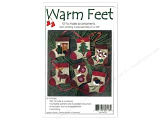 Rachel's Of Greenfield Kits Felt Warm Feet Ornaments