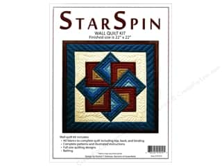 Rachel's Of Greenfield Kit Quilt Star Spin