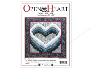 Rachel's Of Greenfield Kit Quilt Open Heart