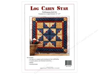 Rachel's Of Greenfield Kit Quilt Log Cabin Star