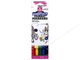 Tulip Fabric Marker Fine Tip Essentials 5pc