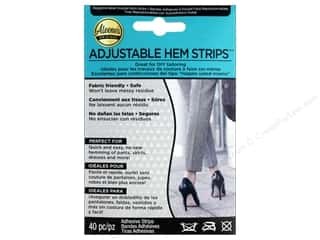 glues, adhesives & tapes: Aleene's Specialty Adjustable Hem Strips 40pc