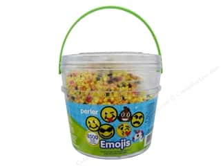 beading & jewelry making supplies: Perler Fused Bead Kit Bucket Emoji 8500pc