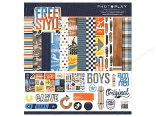 "Photo Play Collection Freestyle Collection Pack 12""x 12"""