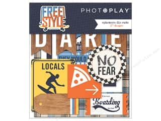 die cuts: Photo Play Collection Freestyle Ephemera Die Cuts