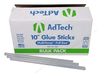 "glues, adhesives & tapes: Ad Tech Glue Stick Multi Temp Full 10"" 5lb"