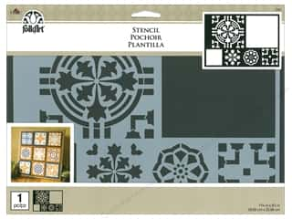 "craft & hobbies: Plaid Stencil Folkart 11.75""x 8.25"" Tavalera"