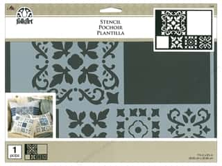 craft & hobbies: Plaid FolkArt Painting Stencils - Barcelona Tile