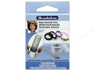 beading & jewelry making supplies: Beadalon Ring Weaver