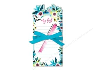 novelties: Lady Jayne Note Pad Die Cut With Pen Tropical Floral