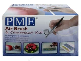 PME Airbrush Kit With Compressor USA Plug
