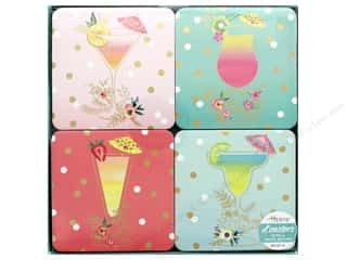 Lady Jayne Coaster Tropical Drinks Set Of 12