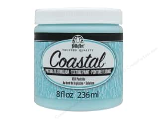craft & hobbies: Plaid Folkart Coastal Texture Paint 8 oz. Poolside