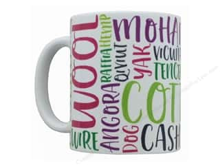 Happy Lines Ceramic Mug Fiber Lovers' Favorites