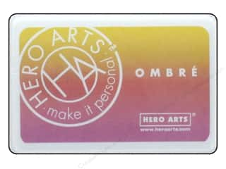 ink pads: Hero Arts Ink Pad Ombre Spring Brights