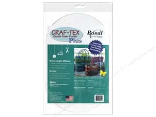 Bosal Craf Tex Plus Fusible Double Sided Small Oval 2pc