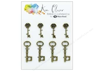 Maya Road Products Ken Oliver Vintage Charms Mini Key