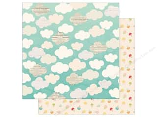 Simple Stories Collection Summer Days Paper  12 in. x 12 in.  Beat The Heat (25 pieces)