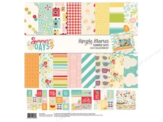 Simple Stories: Simple Stories Collection Summer Days Collection Kit  12 in. x 12 in.