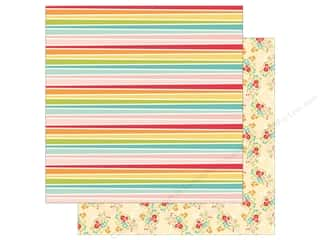 Simple Stories Collection Summer Days Paper 12 in. x 12 in.  Hello Sunshine (25 pieces)