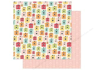 Simple Stories Collection Summer Days Paper  12 in. x 12 in. Summer Snapshots (25 pieces)