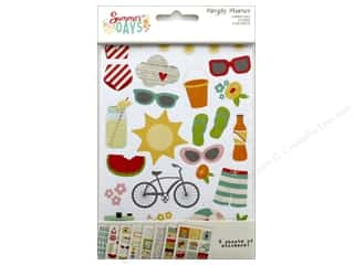 Simple Stories: Simple Stories Collection Summer Days Stickers 4 in. x 6 in.