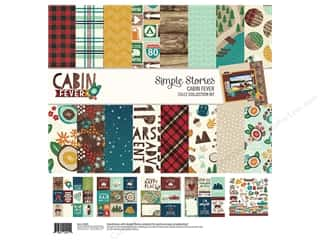 Simple Stories: Simple Stories Collection Cabin Fever Collection Kit  12 in. x 12 in.