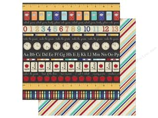 Simple Stories Collection Old School Paper 12 in. x 12 in. ABC 123 (25 pieces)