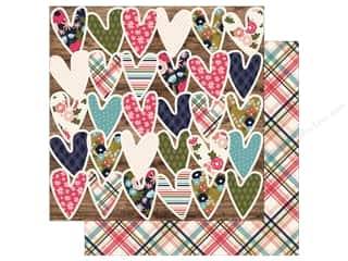 Simple Stories Collection Hello Lovely Paper 12 in. x 12 in.  Fab-YOU-lous (25 pieces)