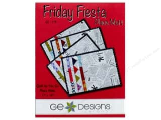 GE Designs Friday Fiesta Place Mats Pattern