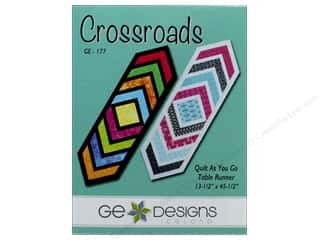 GE Designs Crossroads Table Runner Pattern