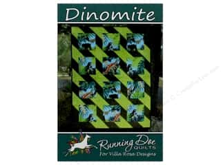 Villa Rosa Designs Running Doe Dinomite Pattern Card