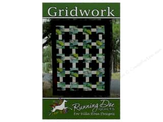 books & patterns: Villa Rosa Designs Running Doe Gridwork Pattern Card
