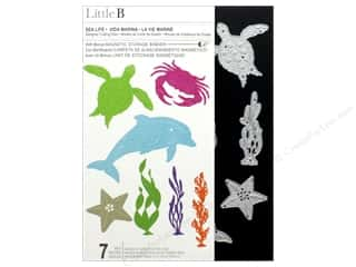 Clearance: Little B Cutting Die Sea Life