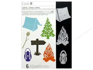Clearance: Little B Cutting Die Camping
