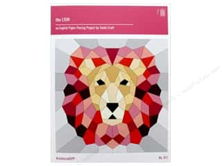 paper purple: Violet Craft The Lion An EPP Project Pattern