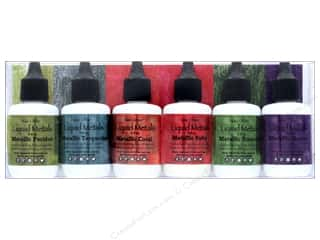 craft & hobbies: Contact Crafts Ken Oliver Liquid Metals Shimmering Gems 6 pc