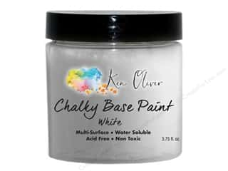 craft & hobbies: Contact Crafts Ken Oliver Paint Chalky Base 3.75 oz White