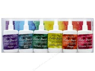 craft & hobbies: Contact Crafts Ken Oliver Color Burst Set 6pc Brights