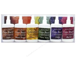 craft & hobbies: Contact Crafts Ken Oliver Color Burst Set 6pc Earthtones
