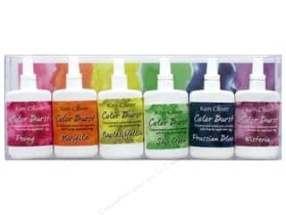 craft & hobbies: Contact Crafts Ken Oliver Color Burst Set 6 pc Florals