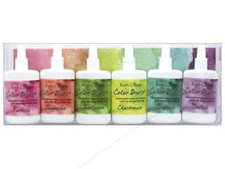 craft & hobbies: Contact Crafts Ken Oliver Color Burst Set 6 pc Caribbean