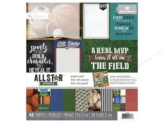 Paper House 12 x 12 in. Paper Pad All Star